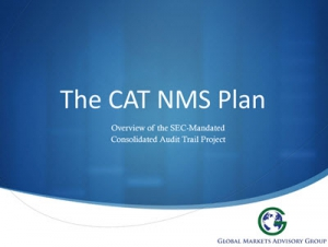 Overview of the SEC-Mandated Consolidated Audit Trail Project