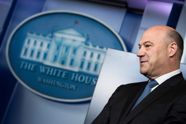 Gary Cohn, director of the National Economic Council, said late Tuesday he would resign.