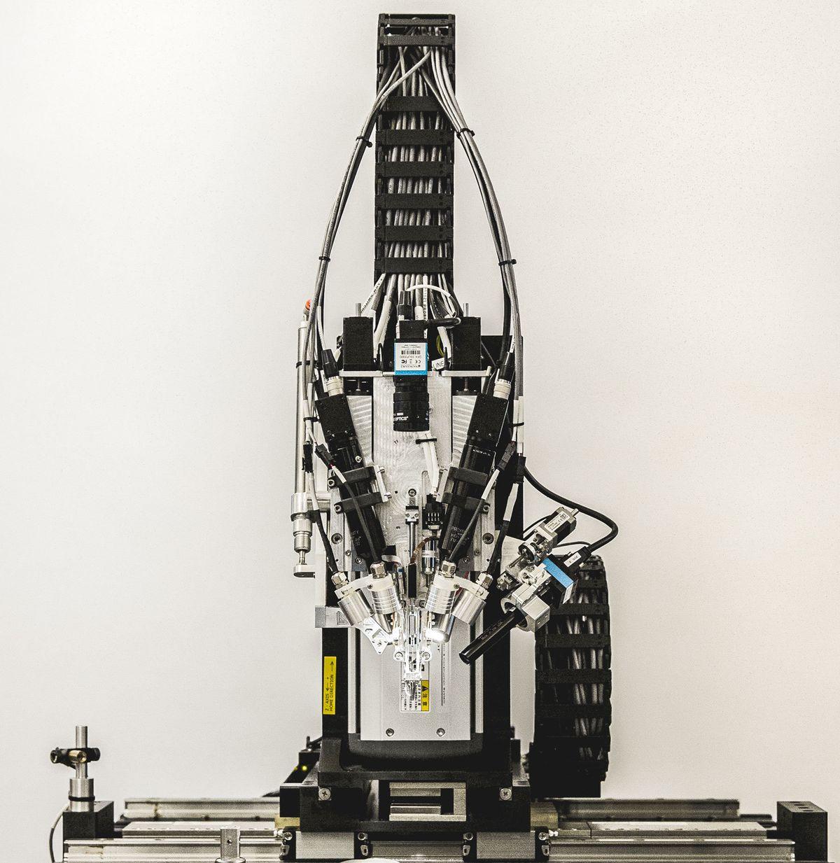 Neuralink's machine for inserting the threads.
