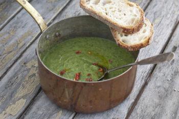 potato and escarole soup