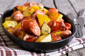 sausage potatoes