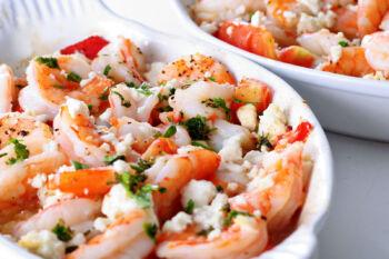 feta shrimp