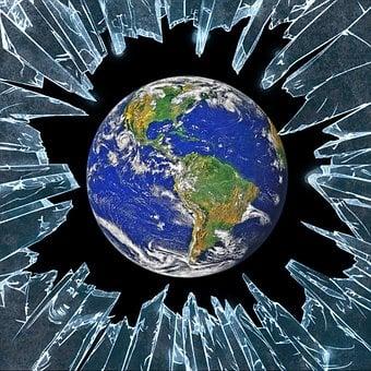 Debris, Shine, Earth, World