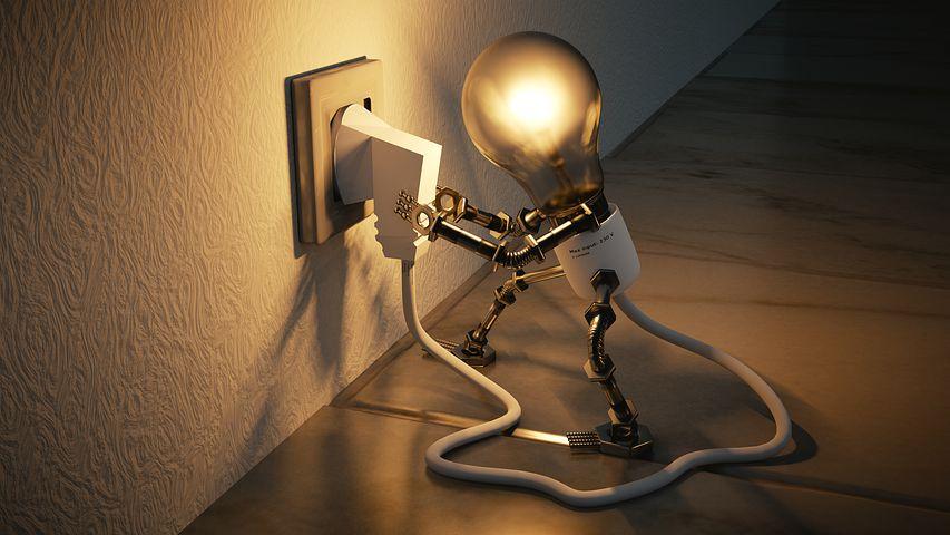 Light Bulb, Idea, Creativity, Socket