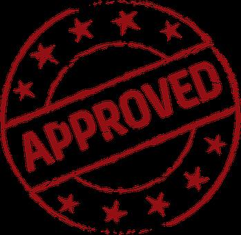 Approved, Stamp, Stamp Approved, Symbol