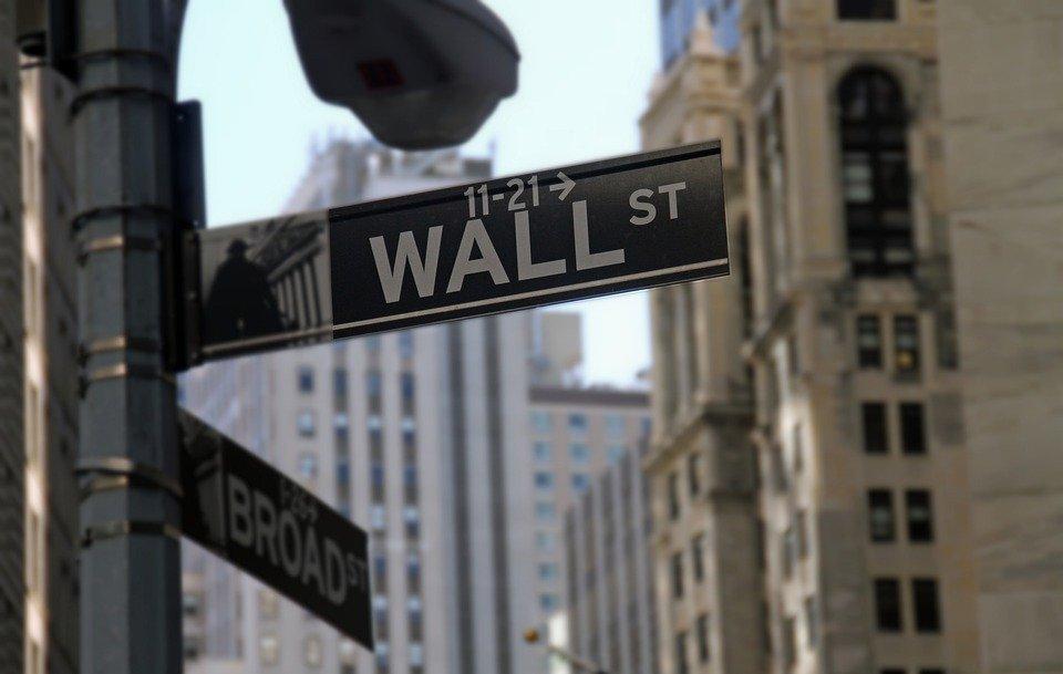Wall Street, Stock Exchange, Finance, New York, Sign