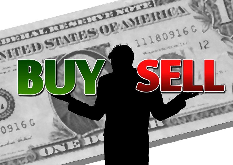 Dollar, Businessman, Finance, To Buy, Selling