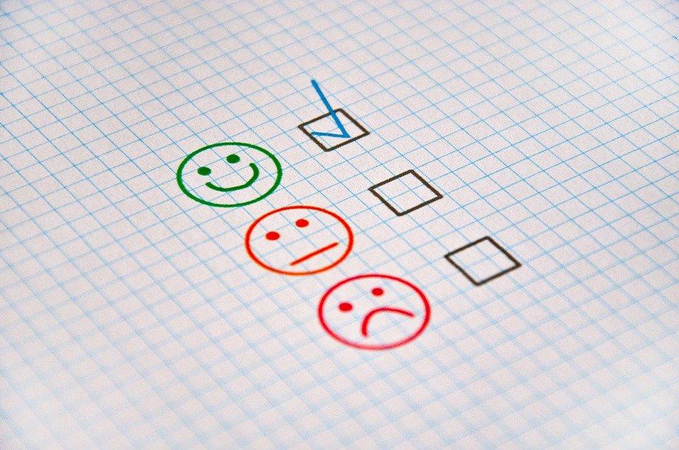 Feedback, Review, Good, Bad, Satisfactory, Positive