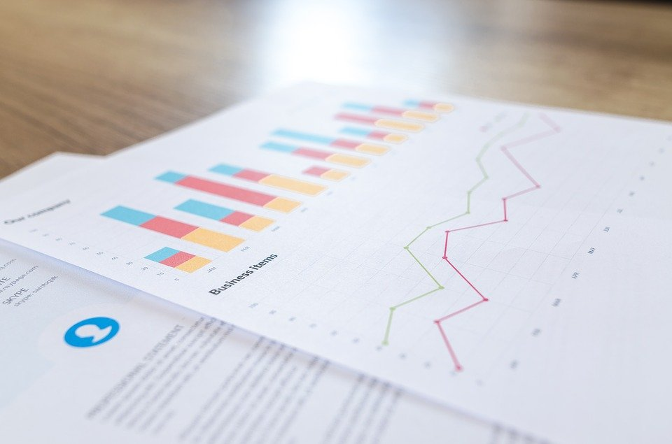 Financial, Analytics, Blur, Business, Close-Up