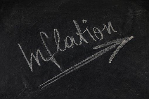 Board, Blackboard, Business, Inflation